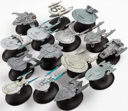 Eaglemoss Official Starships Collection group