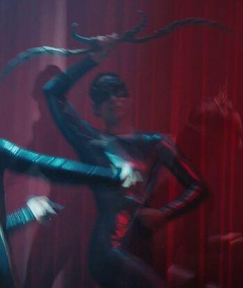...as a Terran silk dancer