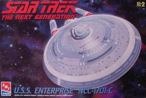 AMT Model kit 8001 USS Enterprise-C 1999.jpg