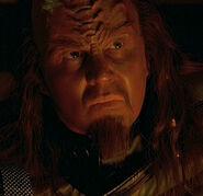 Klingon listening post officer