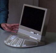 Starfleet desktop monitor, grey