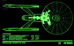 Constitution class refit overview, lcars, tngs1