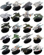 Star Trek Online Starships Collection starship models