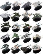 Star Trek Online Starships Collection starship models