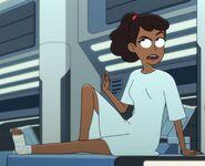 Starfleet patient's gown, 2380