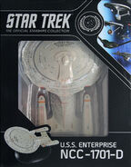 Star Trek Official Starships Collection USS Enterprise-D repack 1