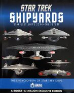 Star Trek Shipyards Starfleet Ships 2294 to the Future Books-A-Million edition