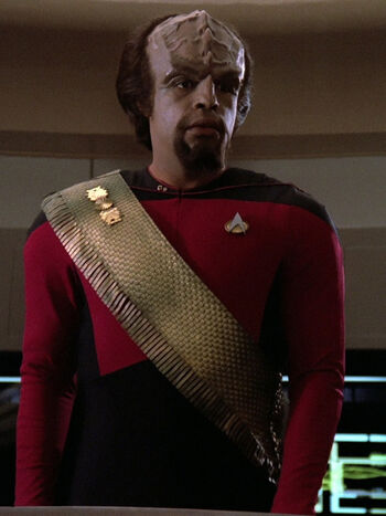 Lieutenant junior grade Worf (2364)