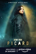 Star Trek Picard Season 1 Dahj poster