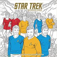 Star Trek The Original Series Adult Coloring Book Where No Man Has Gone Before cover