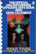 The Official USS Enterprise Officer's Date Book cover