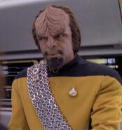 Worf hologram, 2370