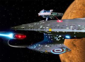 USS Hathaway attacks the Enterprise-D.jpg