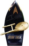 Willitts USS Enterprise Golden Ltd Ed