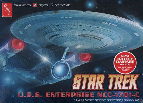 AMT Model kit 721 USS Enterprise-C 2012.jpg