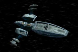 Andorian battle cruiser, forward