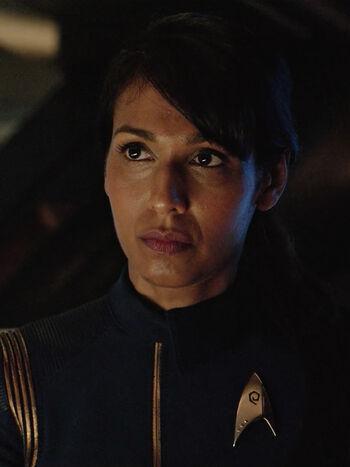 Commander Ellen Landry in 2256