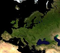 Europa - część kontynentu Eurazja