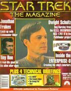 Star Trek The Magazine volume 1 issue 22 cover
