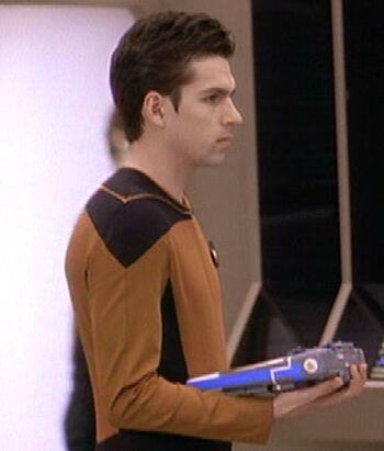 Ensign Fletcher in 2364