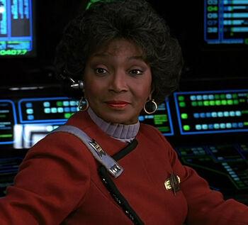 Commander Nyota Uhura in 2293