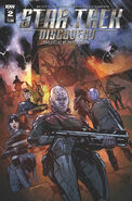 Star Trek Discovery - Succession, issue 2 cover A