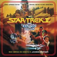 Star Trek II expanded soundtrack cover