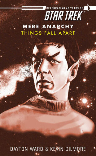 Cover of book 1, Things Fall Apart
