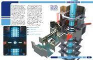 USS Enterprise Owners Workshop Manual pp. 120-121 spread