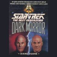 Dark Mirror audiobook cover, digital edition