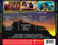 Star Trek III expanded soundtrack back cover