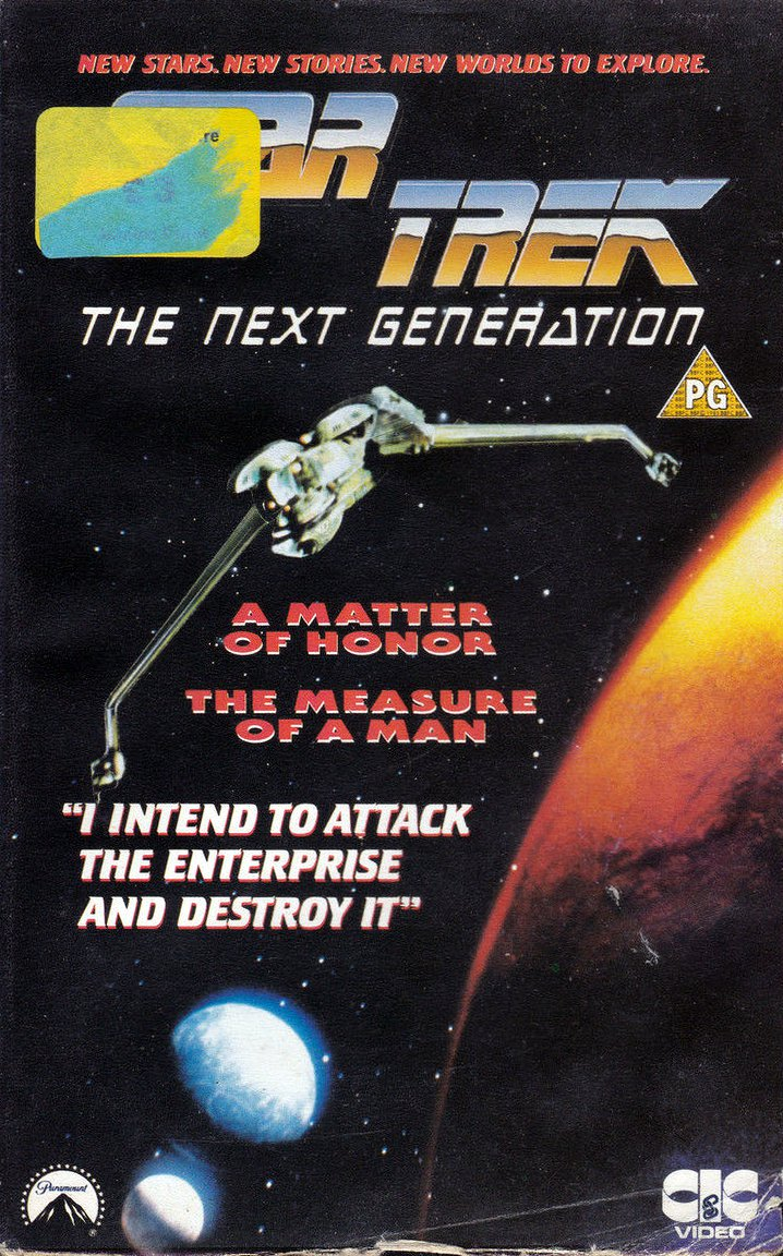 TNG Season 2 UK VHS
