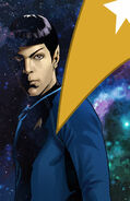 Countdown to darkness, couverture Spock ébauche 2