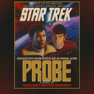 Probe audiobook cover, digital edition