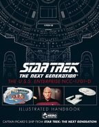 Star Trek TNG The USS Enterprise NCC-1701-D Illustrated Handbook final cover