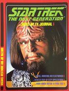Star Trek The Next Generation Makeup FX Journal, Titan