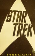 Vegas convention Star Trek poster