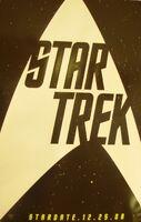 Vegas convention Star Trek poster