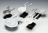 F-Toys partial model set