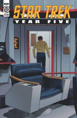 Star Trek Year Five issue 22 cover A.jpg