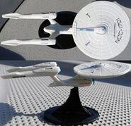 Walmart Amazon USS Enterprise miniature