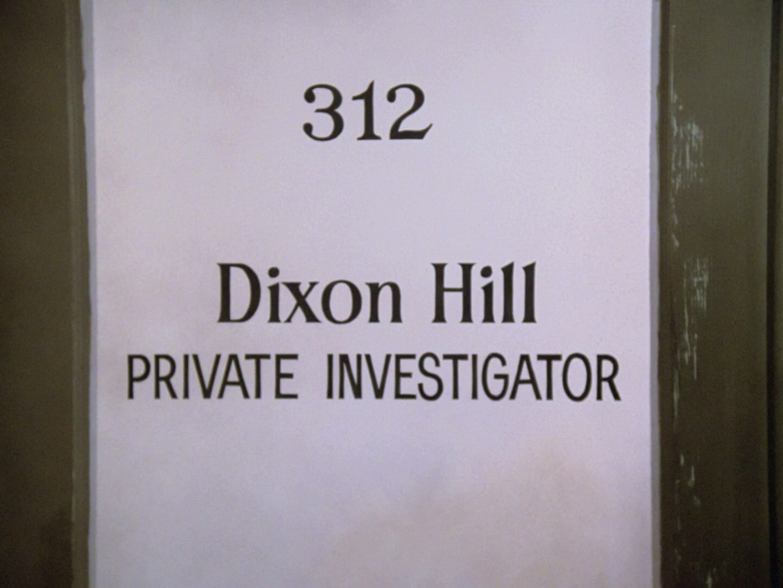 Dixon Hill series