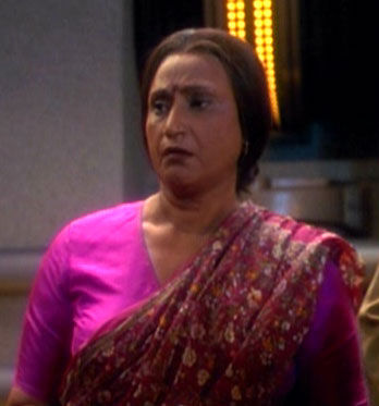 ...as an Indian woman.