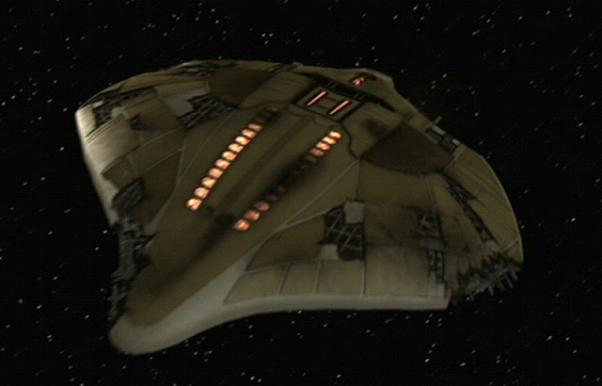Illyrian starship