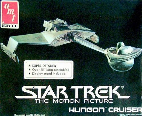 AMT Model kit 6682 Klingon Cruiser 1985.jpg