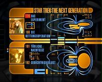 DVD-Menü TNG Staffel 4 Disc 2