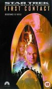 First Contact 1998 UK VHS cover
