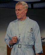 Boyce in utility jumpsuit