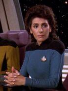Hologramm von Deanna Troi 2369