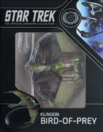 Star Trek Official Starships Collection Klingon Bird-of-Prey repack 2